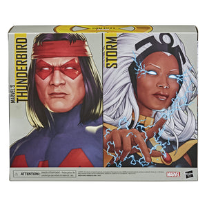 (Hasbro) (Pre-Order) MARVEL LEGENDS SERIES X-MEN 6-INCH STORM AND MARVEL'S THUNDERBIRD Figure 2-Pack - Deposit Only