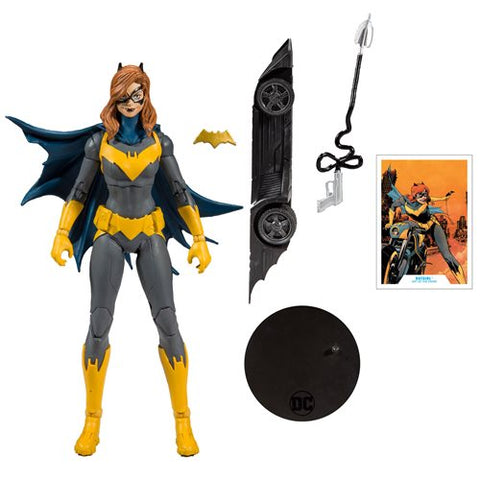 Image of (Mc Farlane) DC Collector Wave 1 Batgirl Art of the Crime 7-Inch Action Figure (Build-A-Batmobile)