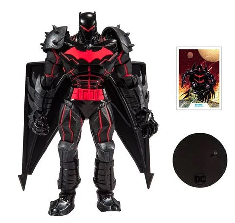 (Mc Farlane) (Pre-Order) DC Armored Wave 1 Batman Hellbat Suit 7-Inch Action Figure - Deposit