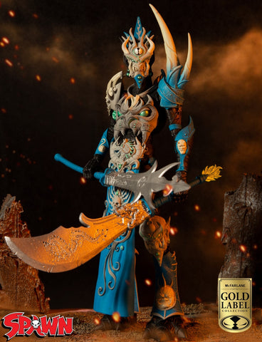 (McFarlane) (Pre-Order) Gold Label Collection – Mandarin Spawn 7″ Scale Figure - Deposit Only