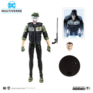 "(Mc Farlane) (Pre-Order) DC MULTIVERSE 7"" ACTION FIGURE - WHITE KNIGHT - JOKER - Deposit Only"