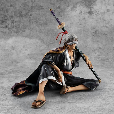 "Image of (MegaHouse) (Pre-Order) Portrait.Of.Pirates ONE PIECE ""Warriors Alliance""Trafalgar Law + TRADING (RANDOM) - Deposit Only"