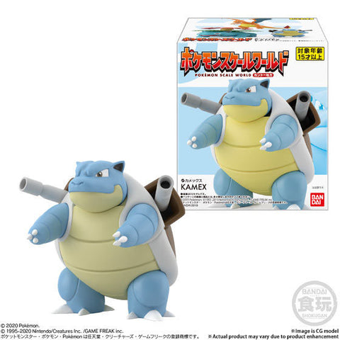 (P-Bandai x Shokugan) (Pre-Order) POKEMON SCALE WORLD KANTO BLASTOISE-Deposit-Only