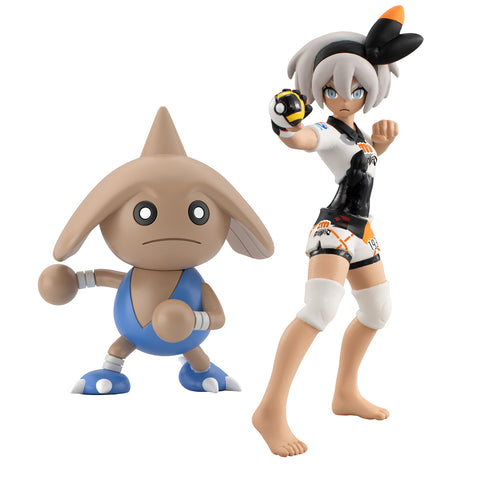 Image of (P-Bandai) (Pre-Order) POKEMON SCALE WORLD GALAR BEA & HITMONTOP - Deposit Only
