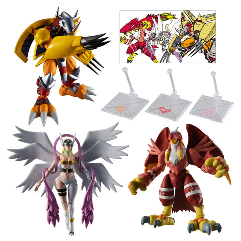 Image of (BANDAI) (PRE-ORDER) SHODO DIGIMON 1 COMPLETE SET - Deposit Only