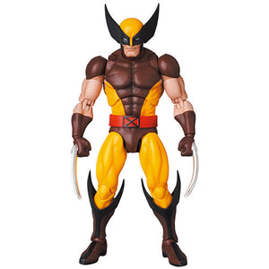 (Medicom Toy) (Pre-Order) Mafex No.138 Wolverine (Brown Comic Ver.) - Deposit Only