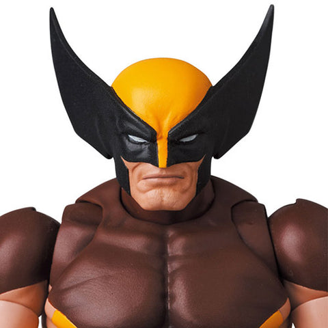 Image of (Medicom Toy) (Pre-Order) Mafex No.138 Wolverine (Brown Comic Ver.) - Deposit Only