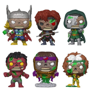 (Funko Pop) Pop! Marvel: Marvel Zombies (Series 2) - Thor with Free Boss Protector
