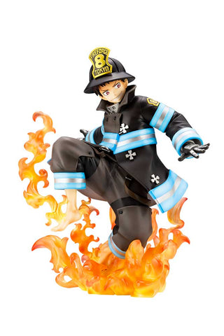 Image of (Kotobukiya) (Pre-Order) Fire Force Shinra Kusakabe ARTFX J  - Deposit Only