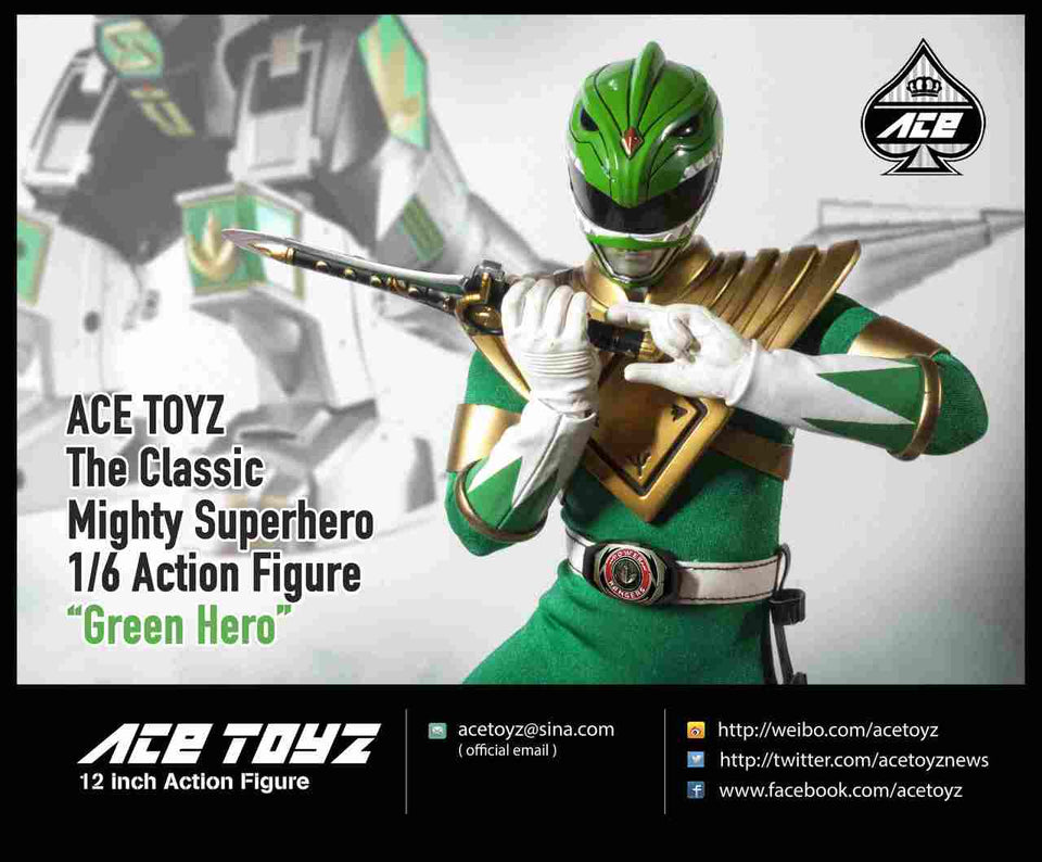 (ACE TOYS) Mighty Super Heroes