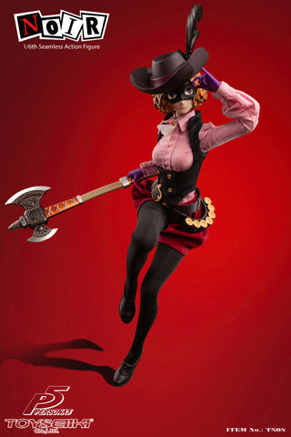 Image of (TOYSEIIKI) (Pre-Order) PERSONA 5 NOIR 1/6th Seamless Action Figure - Deposit Only
