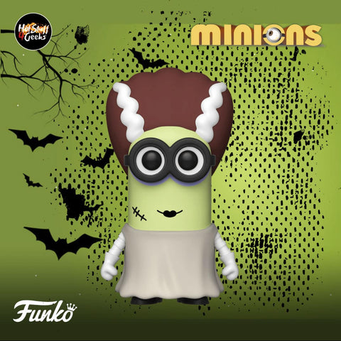 Image of (Funko Pop) POP MOVIES: MINIONS - BRIDE KEVIN with Free Protector