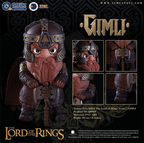 (Asmus Toys) (Pre-Order) Q-Bitz The Lord of the Rings Limited Articulation Figure (a set of 5) - Deposit Only