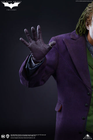 (Queen Studios) (Pre-Order) 1/4 The Dark Knight Heath Ledger Joker Standard or Artist Version