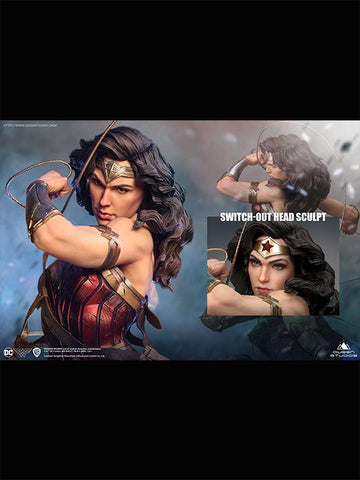 (Queen Studios) (Pre-Order) DC Comics 1/4 Scale Wonder Woman Statue w/ Sword & Shield - Deposit Only