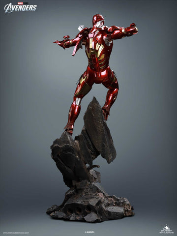 (Queen Studios) (Pre-Order) Iron Man Mark 7 1/4 Scale Statue - Deposit Only