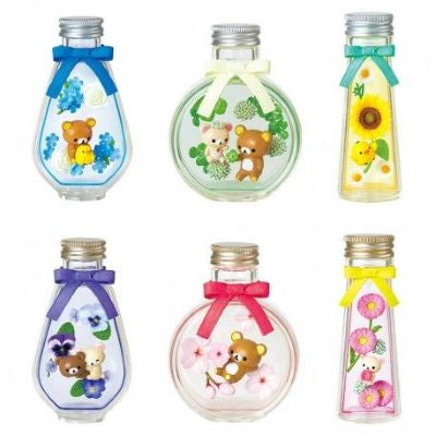 Image of (RE-MENT) RILAKKUMA FLOWER BOTTLE