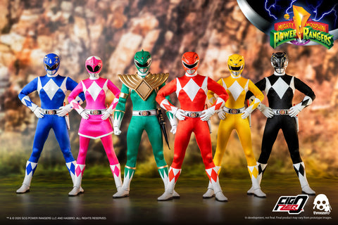 Image of (Threezero) (Pre-Order) Mighty Morphin Power Rangers 1/6 Scale Figures - Deposit Only