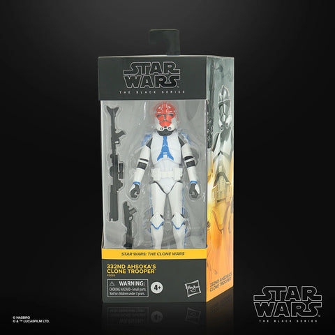 (Hasbro) (Pre-Order) STAR WARS CLONE WARS 6″ BLACK SERIES -322nd Clone Trooper - Deposit Only