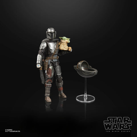 (Hasbro) Star Wars The Black Series Din Djarin (The Mandalorian) and The Child