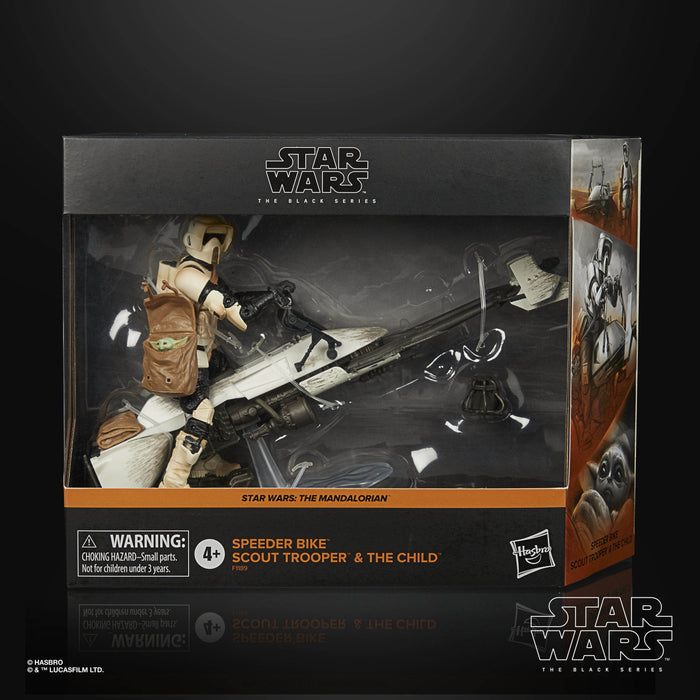 (Hasbro) (Pre-Order) STAR WARS: THE BLACK SERIES 6-INCH SPEEDER BIKE SCOUT TROOPER Figure & Vehicle Set - Deposit Only