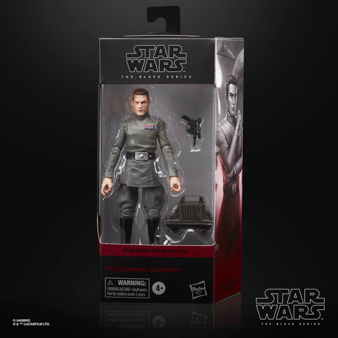 (Hasbro) (Pre-Order) Star Wars Black Series Vice Admiral Rampart - Deposit Only
