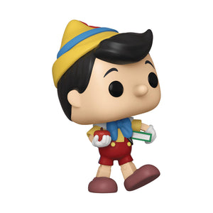 (Funko Pop) Pop! Disney: Pinocchio 80th Anniversary- School Bound Pinocchio with Free Boss Protector