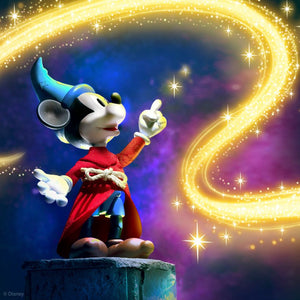 (Super 7) (Pre-Order) Disney Ultimates Fantasia Sorcerer's Apprentice Mickey Mouse Action Figure - Deposit Only