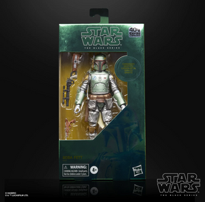 (Hasbro) (Pre-Order) Star Wars The Black Series 6-inch CARBON 2ND METALLIC BOBA FETT - Deposit Only