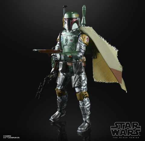 (Hasbro) Star Wars The Black Series 6-inch CARBON 2ND METALLIC BOBA FETT