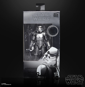 Hasbro) (Pre-Order) Star Wars The Black Series 6-inch CARBON 2ND METALLIC STORMTROOPER - Deposit Only
