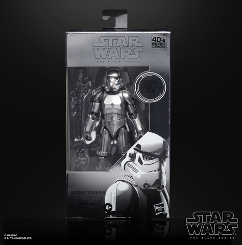 (Hasbro) Star Wars The Black Series 6-inch CARBON 2ND METALLIC STORMTROOPER