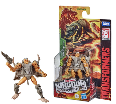 (Hasbro) Transformers Generations WFC Kingdom Core Rattrap 3.5 Inch Action Figure
