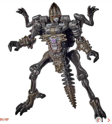 Image of (Hasbro) Transformers Generations WFC Kingdom Core Vertebreak 3.5 Inch Action Figure