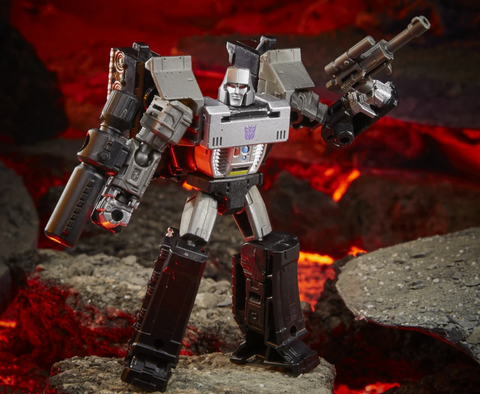 Image of (Hasbro) Transformers Generations WFC Kingdom Core Wave 2 Megatron 3.5 Inch Action Figure