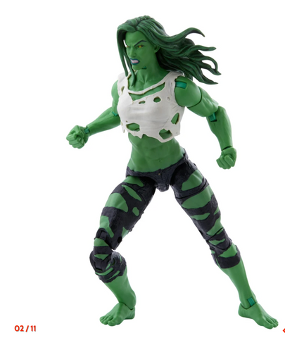 (Hasbro) (Pre-Order) Marvel Legends Exclusive She Hulk 6 Inch Action Figure - Deposit Only
