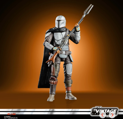 (Hasbro) Star Wars The Vintage Collection. 3.75 Inch Action Figure -   BESKAR THE MANDALORIAN