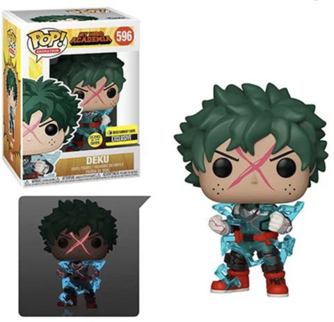 (Funko Pop) (Pre-Order) My Hero Academia Deku Full Cowl Glow-in-the-Dark