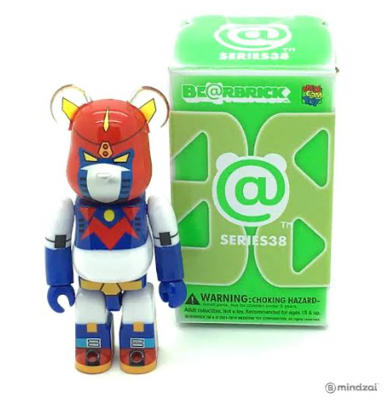 Image of (ICARUS TOYS) 43 inch Voltes V Sword + Bearbrick Voltes V Special Package