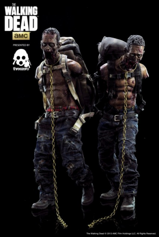(3A/ZERO) WALKING DEAD - MICHONNE'S PETS TWIN PACK - DEPOSIT ONLY