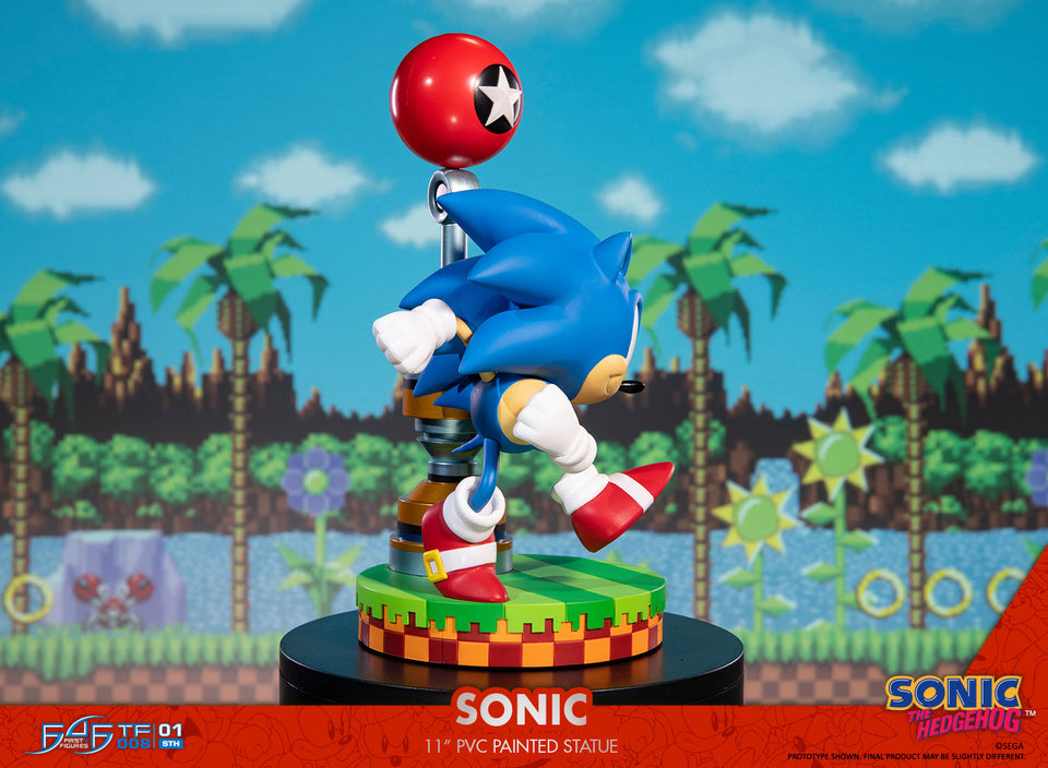 "(First 4 Figures) (Pre-Order) SONIC THE HEDGEHOG - SONIC 11"" PVC   - Deposit Only"