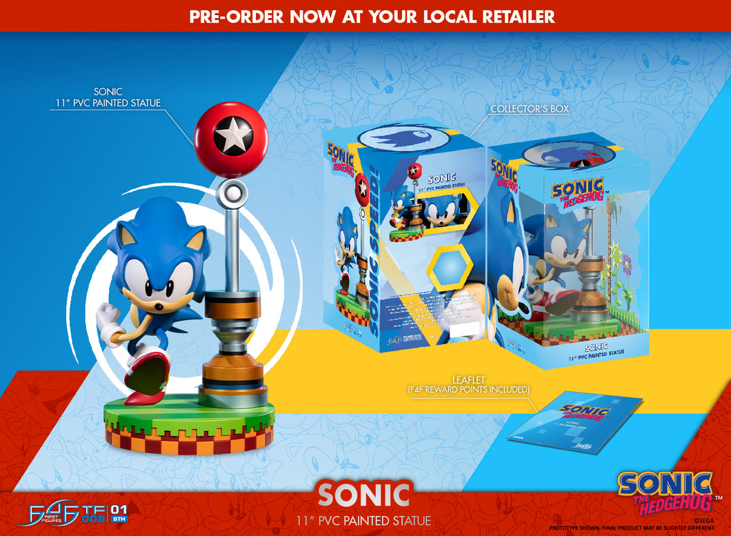 (First 4 Figures) (Pre-Order) SONIC THE HEDGEHOG - SONIC 11