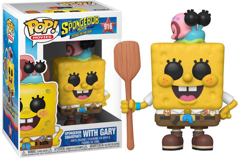 Image of Funko Pop Pop Animation SpongeBob Squarepants with Gary with Free Protector