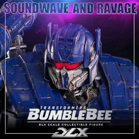 (3A ThreeZero) (Pre-Order) DLX Soundwave and Ravage Bumblebee Movie ver. - Deposit Only - PO Price - P10,450