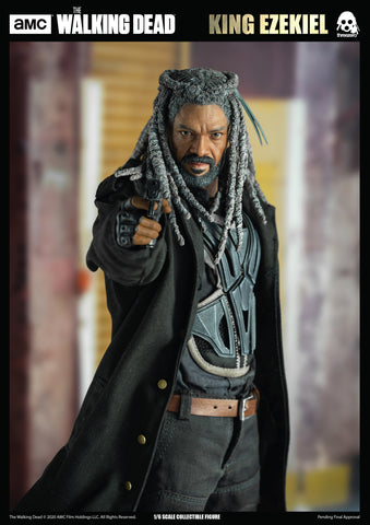 Image of (Threezero) (Pre-Order) The Walking Dead – 1/6 King Ezekiel (Retail) - Deposit Only