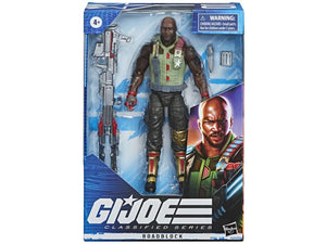(Hasbro) (Pre-Order) GI JOE Classified Collection Roadblock 6 Inch Action Figure - Deposit Only