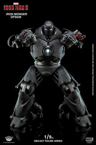 (KING ARTS) IRON MONGER DFS0039