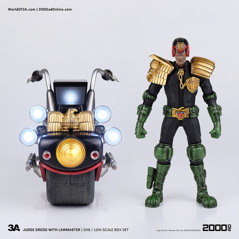 (3A/ZERO) 2000 AD JUDGE DREDD 1/6 SCALE FIGURE - DEPOSIT ONLY