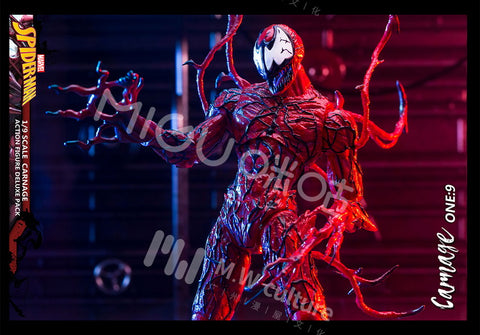 Image of (M.W CULTURE Migu) (Pre- Order) 1/9 Scale Action Figure - Marvel - Carnage - Deposit Only