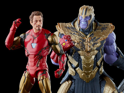 (Hasbro)(Pre-Order) Avengers: Endgame Marvel Legends The Infinity Saga Iron Man Mark 85 & Thanos Two-Pack - Deposit Only